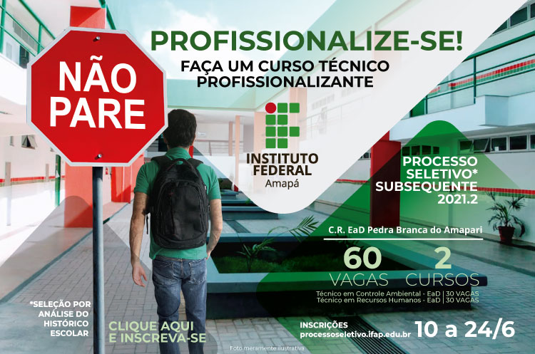 PS Subsequente 2021.2 - C.R.EaD Pedra Branca do Amapari