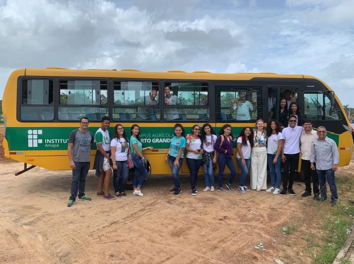 Campus Porto Grande recebe ônibus