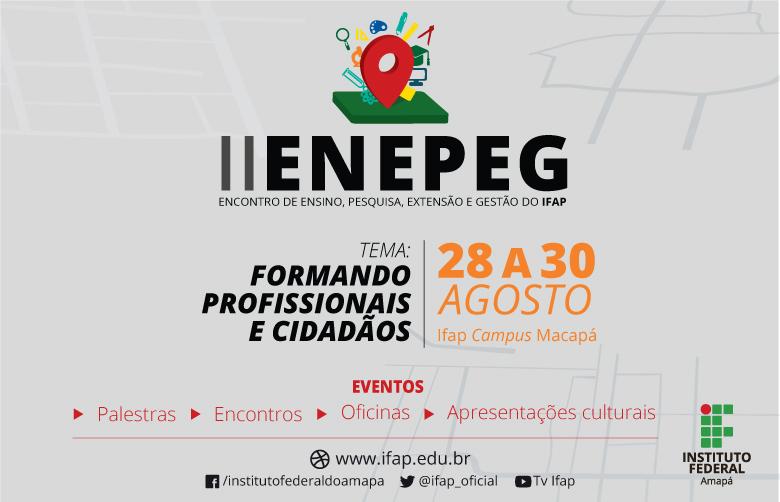 Abertas inscrições para o Enepeg 2019