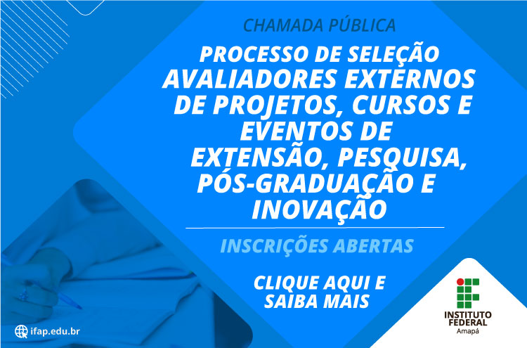 Ifap seleciona avaliadores de projetos
