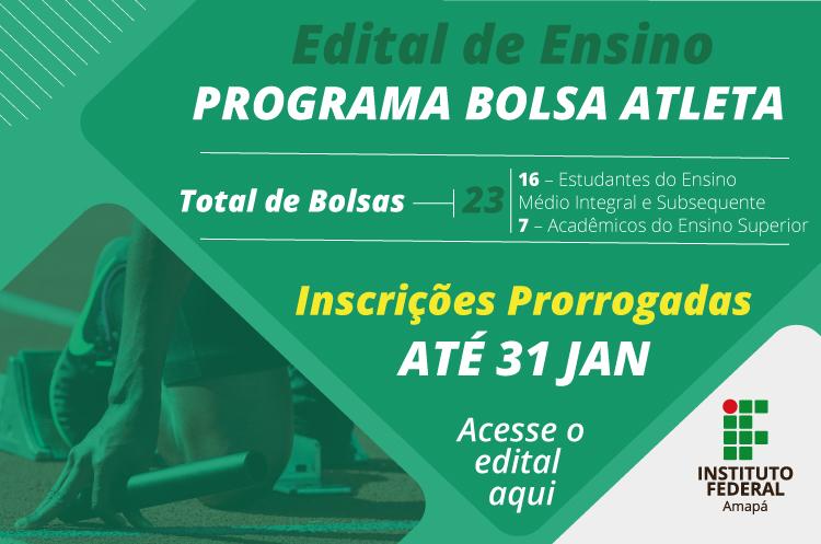 Ifap lança Programa Bolsa Atleta