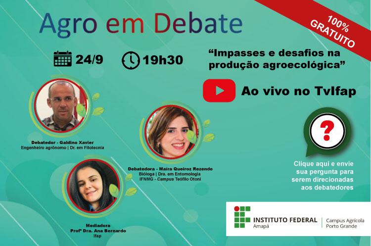Agro em Debate - Ao Vivo no Tv Ifap