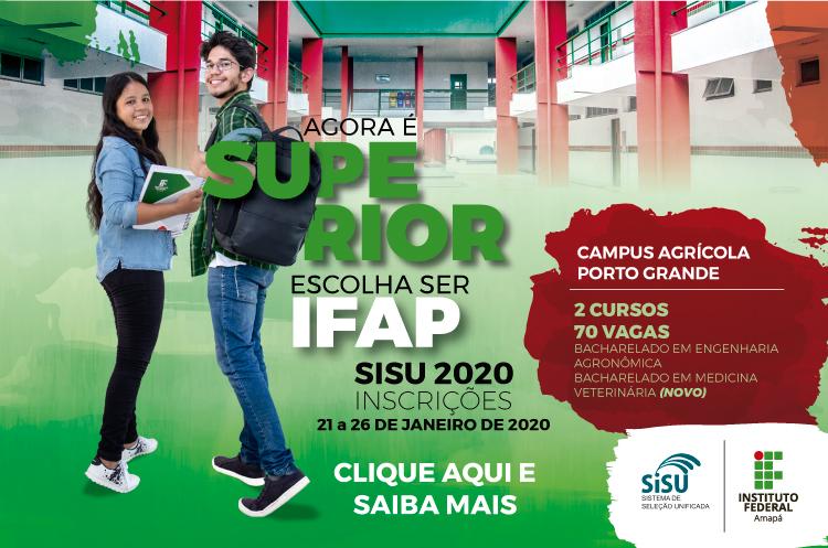 Ifap oferta 670 vagas em 17 cursos no Sisu