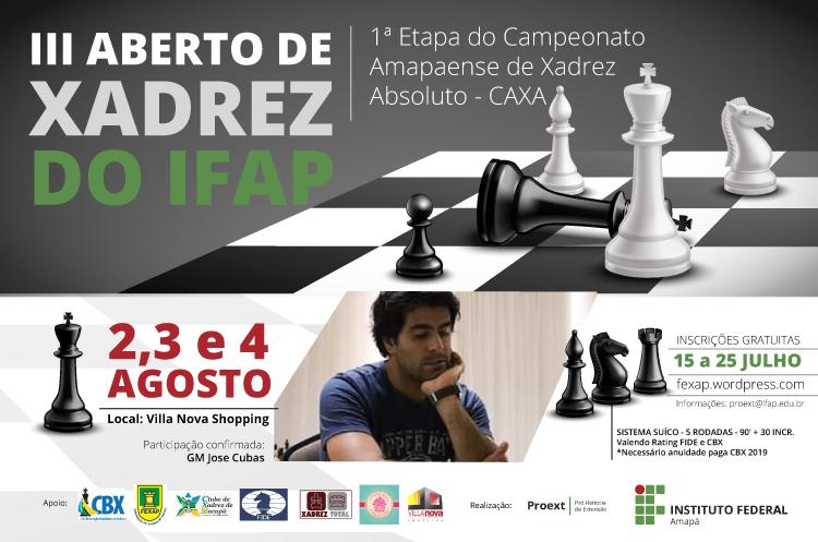 III Aberto de xadrez do Ifap