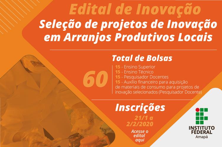 Ifap investe R$ 200 mil em pesquisa de arranjos produtivos locais