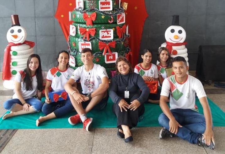 Natal inspira solidariedade e reciclagem